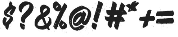 Muffler Dusty Version otf (400) Font OTHER CHARS