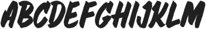 Muffler otf (400) Font LOWERCASE