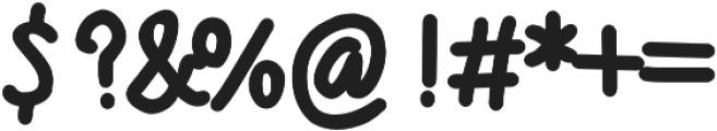 Mugget otf (400) Font OTHER CHARS