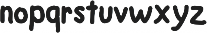 Mugget otf (400) Font LOWERCASE