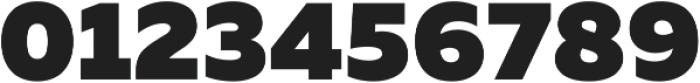 Muller Black ttf (900) Font OTHER CHARS