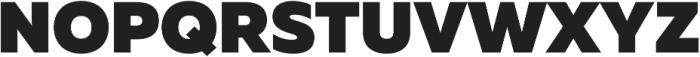 Muller Black ttf (900) Font UPPERCASE