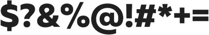 Muller ExtraBold otf (700) Font OTHER CHARS
