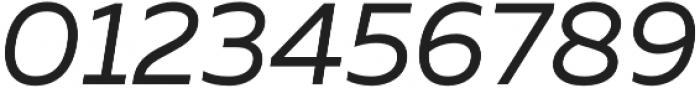 Muller Regular Italic otf (400) Font OTHER CHARS