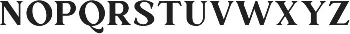 Mullion otf (400) Font UPPERCASE