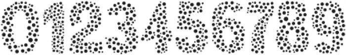 MultiDots Regular ttf (400) Font OTHER CHARS