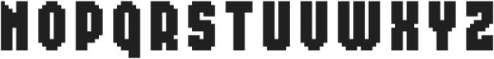 MultiType Pixel Compact SC otf (400) Font UPPERCASE