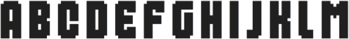 MultiType Pixel Compact SC otf (400) Font LOWERCASE