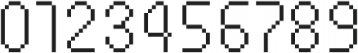 MultiType Pixel Compact Thin SC otf (100) Font OTHER CHARS