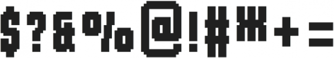 MultiType Pixel Compact otf (400) Font OTHER CHARS