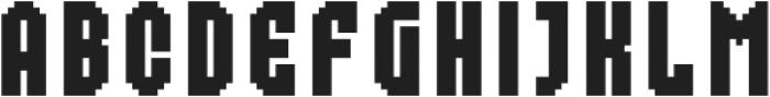 MultiType Pixel Compact otf (400) Font UPPERCASE