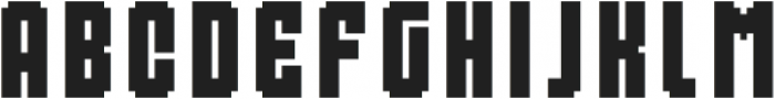 MultiType Pixel Compact otf (400) Font LOWERCASE