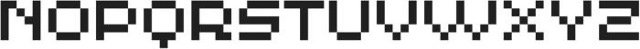 MultiType Pixel Display otf (400) Font UPPERCASE