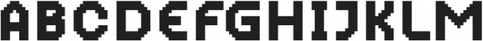 MultiType Pixel Narrow SC otf (400) Font UPPERCASE