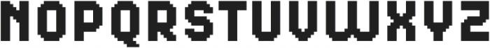MultiType Pixel Narrow SC otf (400) Font LOWERCASE