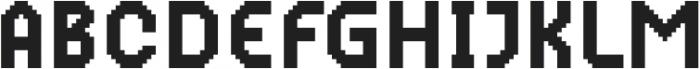 MultiType Pixel Narrow otf (400) Font UPPERCASE