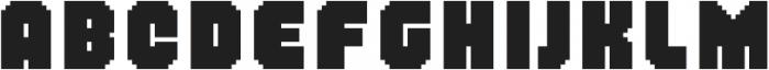MultiType Pixel Regular Bold otf (700) Font LOWERCASE