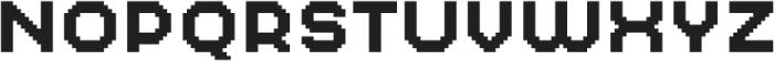 MultiType Pixel Regular SC otf (400) Font UPPERCASE