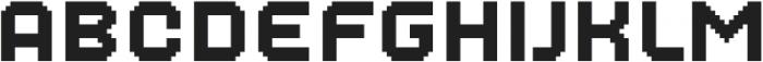 MultiType Pixel Regular SC otf (400) Font LOWERCASE