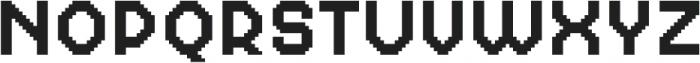MultiType Pixel Regular otf (400) Font UPPERCASE