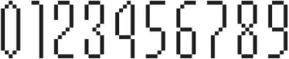 MultiType Pixel Slender otf (400) Font OTHER CHARS