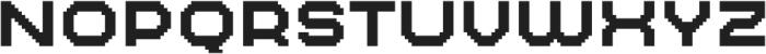 MultiType Pixel Wide SC otf (400) Font UPPERCASE