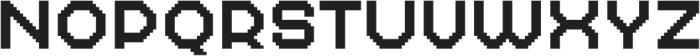 MultiType Pixel Wide otf (400) Font UPPERCASE
