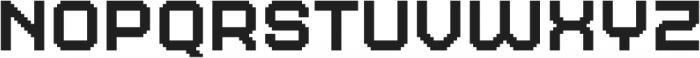 MultiType Pixel Wide otf (400) Font LOWERCASE