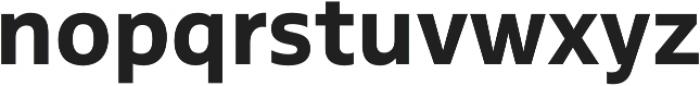 MultipleSans Alt II Bold otf (700) Font LOWERCASE