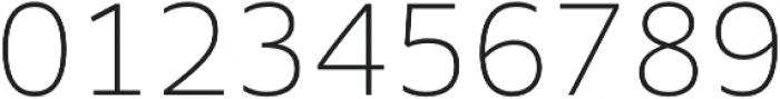 MultipleSans Alt II ExtraLight otf (200) Font OTHER CHARS