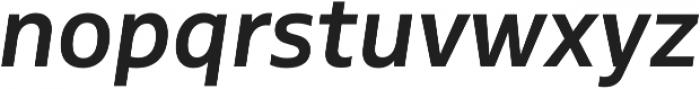 MultipleSans Alt II SemiBold It otf (600) Font LOWERCASE