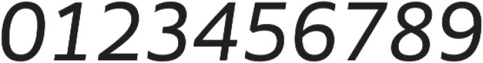 MultipleSans Alt III Regular It otf (400) Font OTHER CHARS