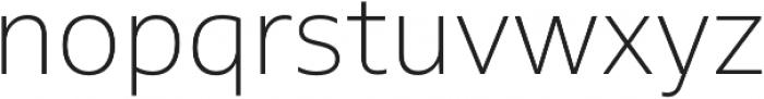 MultipleSans Pro ExtraLight otf (200) Font LOWERCASE