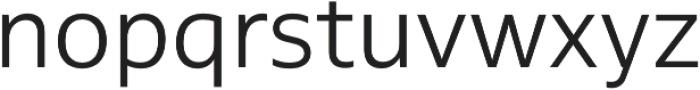 MultipleSans Pro Light otf (300) Font LOWERCASE