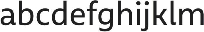 MultipleSans Pro otf (400) Font LOWERCASE