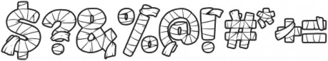 Mummified-Regular otf (400) Font OTHER CHARS