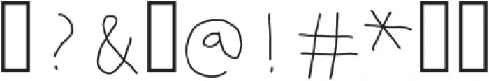 Mumus-Light otf (300) Font OTHER CHARS