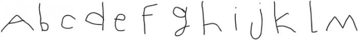 Mumus-Light otf (300) Font LOWERCASE