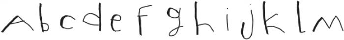 Mumus otf (400) Font LOWERCASE