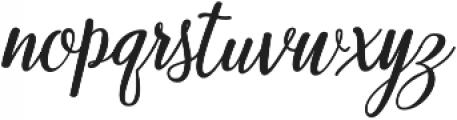 Munira Script Bold Regular otf (700) Font LOWERCASE
