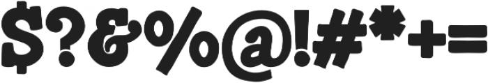 Munky Bold otf (700) Font OTHER CHARS