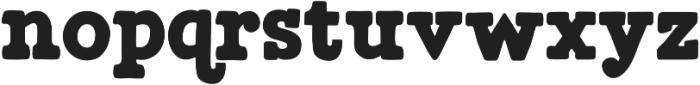 Munky Bold otf (700) Font LOWERCASE