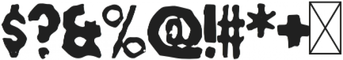 Munsh otf (400) Font OTHER CHARS