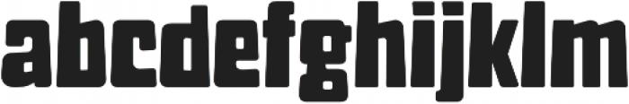 Muralista Regular otf (400) Font LOWERCASE
