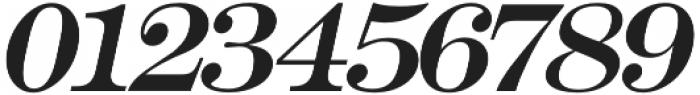 Muritania Italic otf (400) Font OTHER CHARS