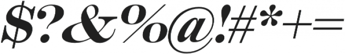 Muritania Italic otf (400) Font OTHER CHARS