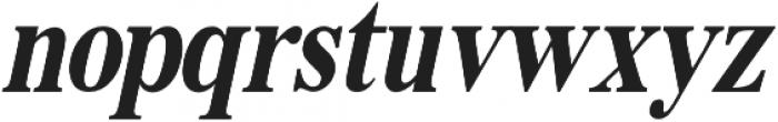 Muritania Italic otf (400) Font LOWERCASE