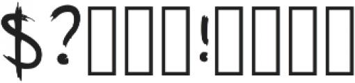 Murok Regular otf (400) Font OTHER CHARS