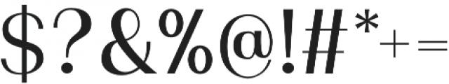 Murphy Sans otf (400) Font OTHER CHARS