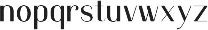 Murphy Sans otf (400) Font LOWERCASE